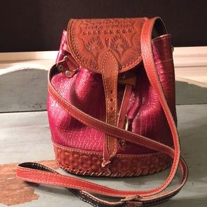 Handbags - Leather shoulder/ crossbody bag